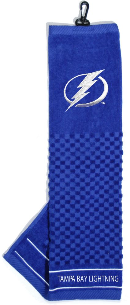 Team Golf Tampa Bay Lightning Embroidered Towel