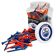 Team Golf Edmonton Oilers 175 Count Golf Tee Jar