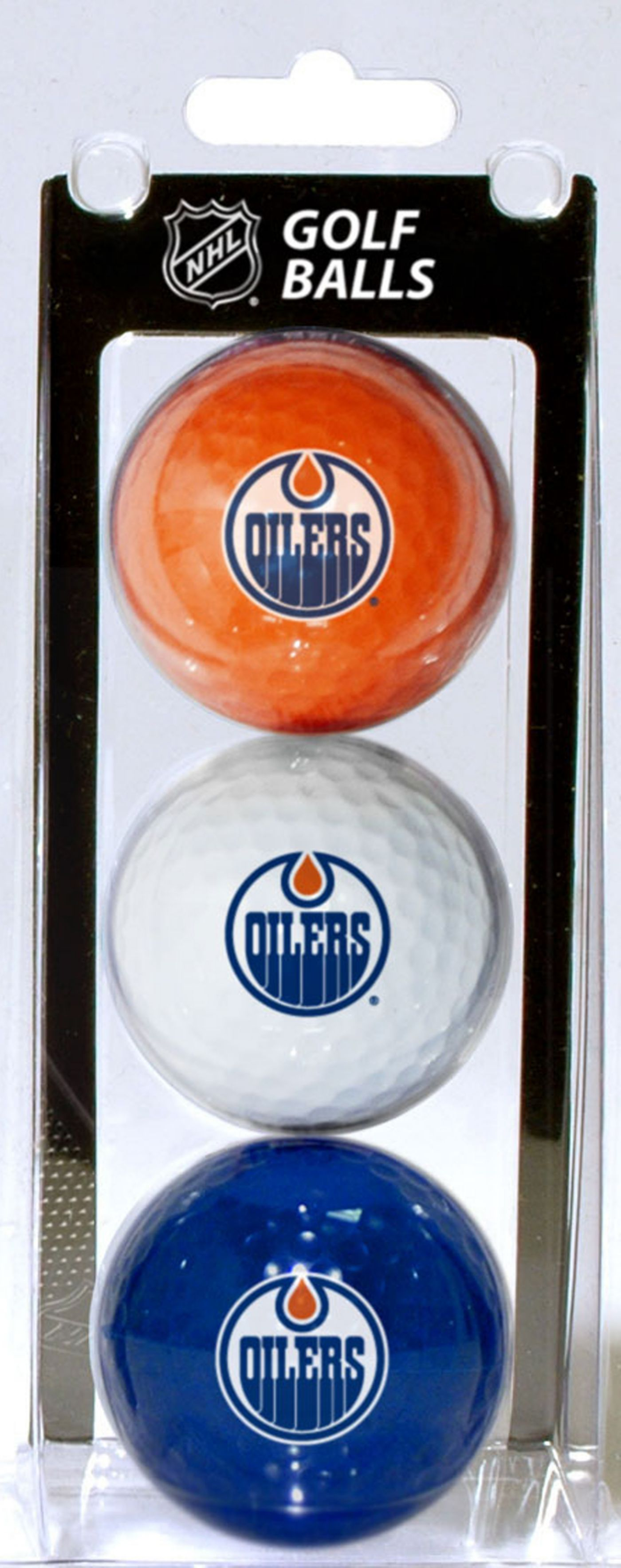 Team Golf Edmonton Oilers Three Pack Golf Ball Set