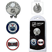 Team Golf Edmonton Oilers Cap Clip And Marker Set