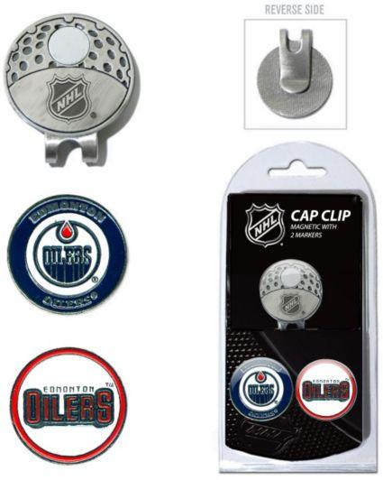 Team Golf Edmonton Oilers Cap Clip And Marker Set