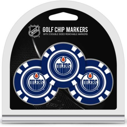Team Golf Edmonton Oilers Golf Chips - 3 Pack