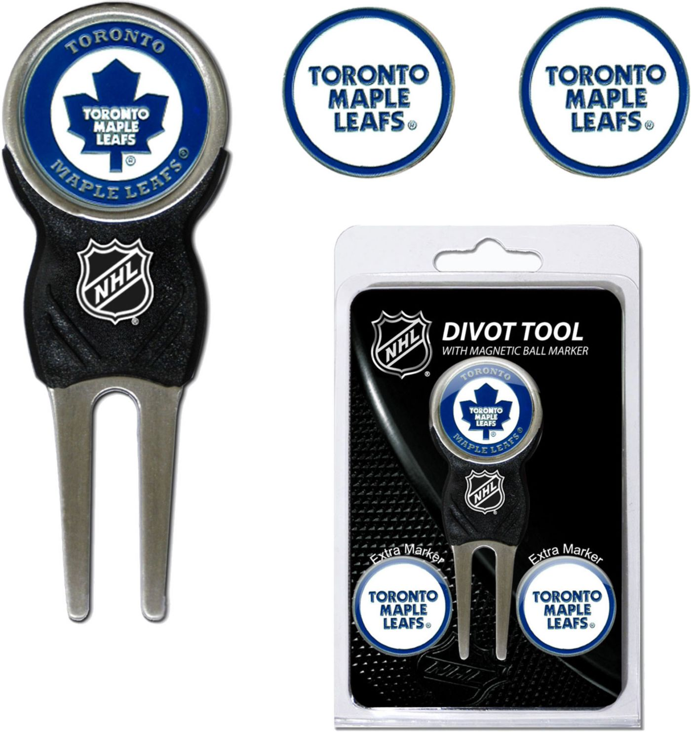Team Golf Toronto Maple Leafs Divot Tool and Marker Set