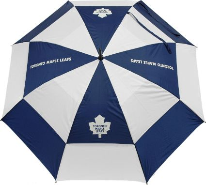 "Team Golf Toronto Maple Leafs 62"" Double Canopy Umbrella"