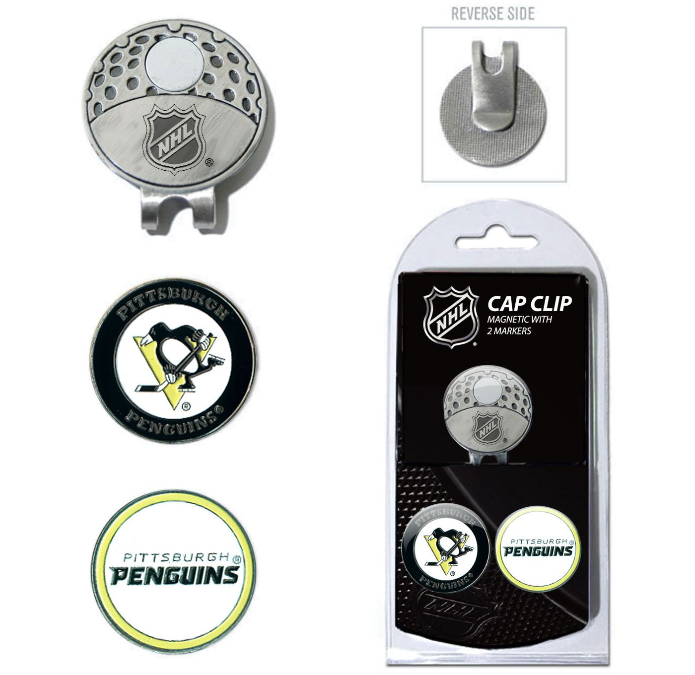 Team Golf Pittsburgh Penguins Cap Clip