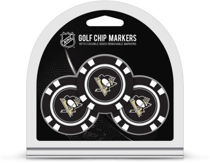 Team Golf Pittsburgh Penguins Golf Chips - 3 Pack