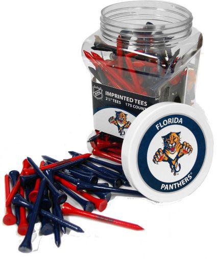 Team Golf Florida Panthers 175 Count Golf Tee Jar