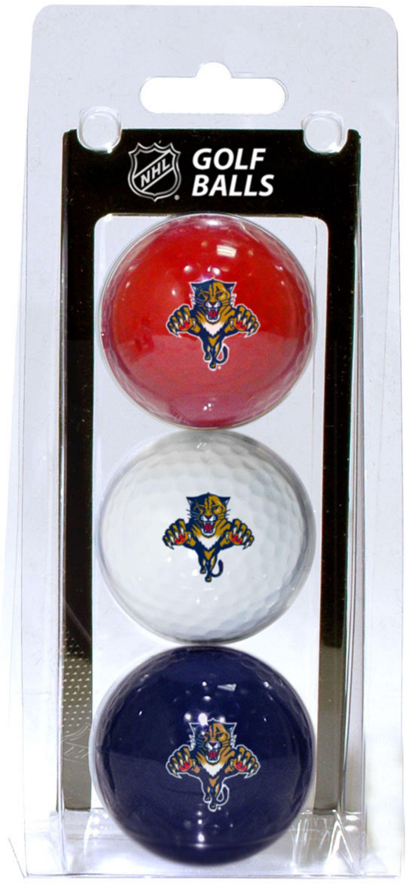 Team Golf Florida Panthers Three Pack Golf Ball Set