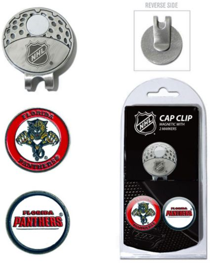 Team Golf Florida Panthers Cap Clip And Marker Set