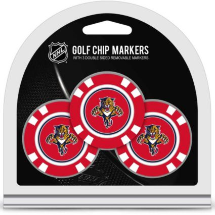 Team Golf Florida Panthers Golf Chips - 3 Pack