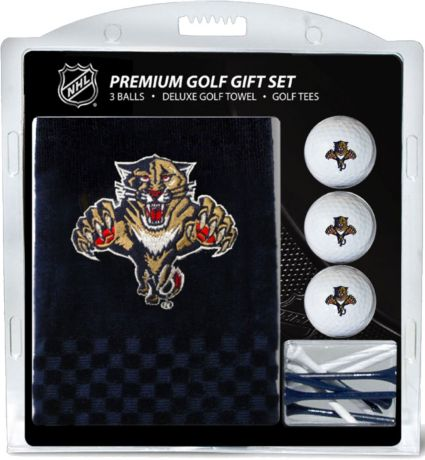 Team Golf Florida Panthers Embroidered Towel Gift Set