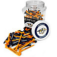 Team Golf Nashville Predators 175 Count Golf Tee Jar
