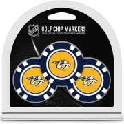 Team Golf Nashville Predators Poker Chips Ball Markers - 3-Pack