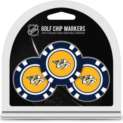 Team Golf Nashville Predators Golf Chips - 3 Pack