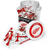 Team Golf Detroit Red Wings 175 Count Golf Tee Jar