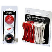 Team Golf Detroit Red Wings 3 Ball/50 Tee Combo Gift Pack