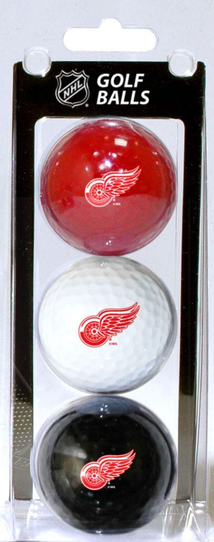 Team Golf Detroit Red Wings Golf Balls - 3 Pack
