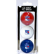 Team Golf New York Rangers Three Pack Golf Ball Set