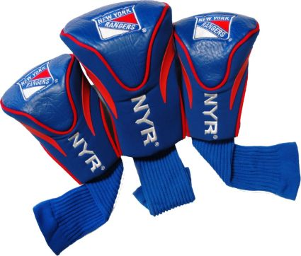 Team Golf New York Rangers Contour Sock Headcovers - 3 Pack