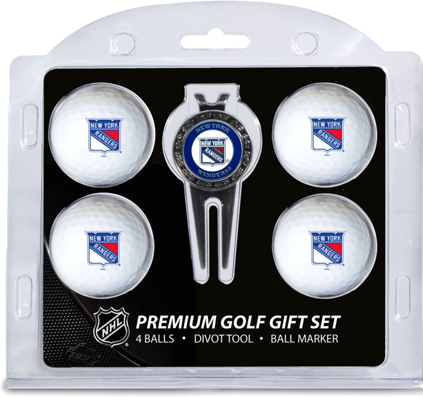 Team Golf New York Rangers Premium Golf Gift Set