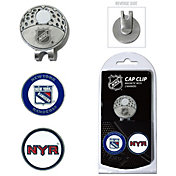 Team Golf New York Rangers Cap Clip And Marker Set