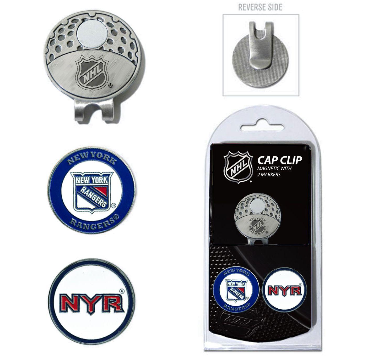 Team Golf New York Rangers Cap Clip