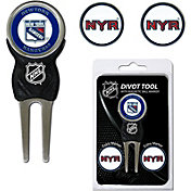 Team Golf New York Rangers Divot Tool and Marker Set