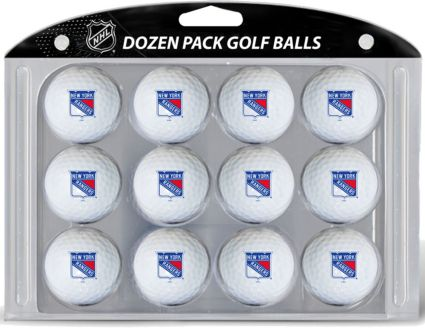Team Golf New York Rangers Golf Balls