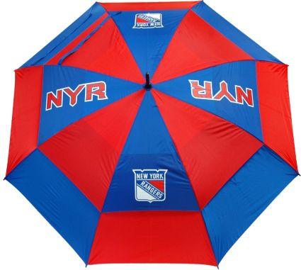 "Team Golf New York Rangers 62"" Double Canopy Umbrella"