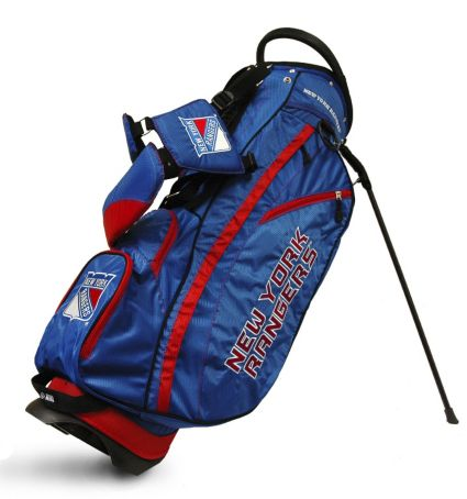 Team Golf Fairway New York Rangers Stand Bag