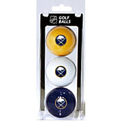 Team Golf Buffalo Sabres Three Pack Golf Ball Set
