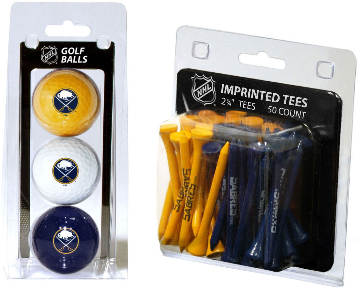 Team Golf Buffalo Sabres 3 Ball/50 Tee Combo Gift Pack
