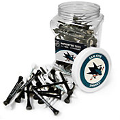 Team Golf San Jose Sharks 175 Count Golf Tee Jar