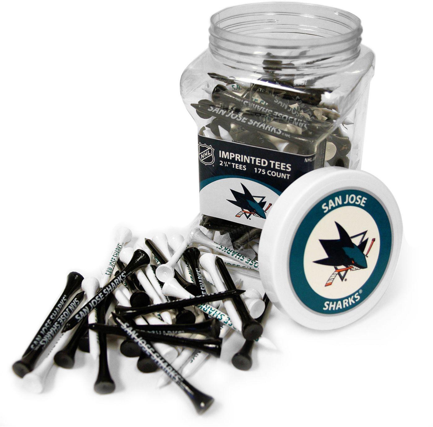 Team Golf San Jose Sharks 175 Count Golf Tee Jar
