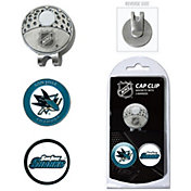 Team Golf San Jose Sharks Cap Clip And Marker Set