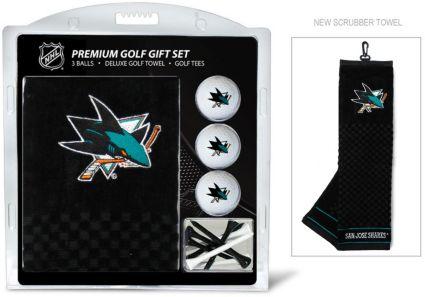 Team Golf San Jose Sharks Embroidered Towel Gift Set