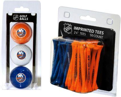 Team Golf New York Islanders 3 Ball/50 Tee Combo Gift Pack