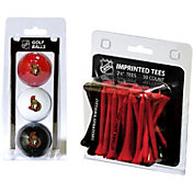 Team Golf Ottawa Senators 3 Ball/50 Tee Combo Gift Pack