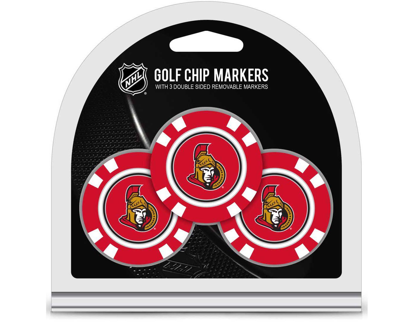 Team Golf Ottawa Senators Golf Chips - 3 Pack