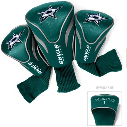 Team Golf Dallas Stars Contour Sock Headcovers - 3 Pack