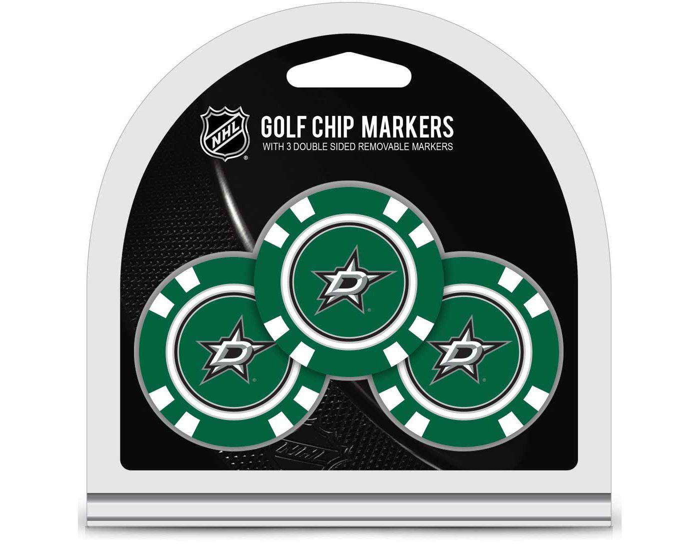 Team Golf Dallas Stars Golf Chips - 3 Pack