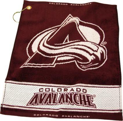 Team Golf Colorado Avalanche Woven Towel