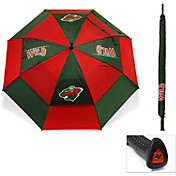"Team Golf Minnesota Wild 62"" Double Canopy Umbrella"
