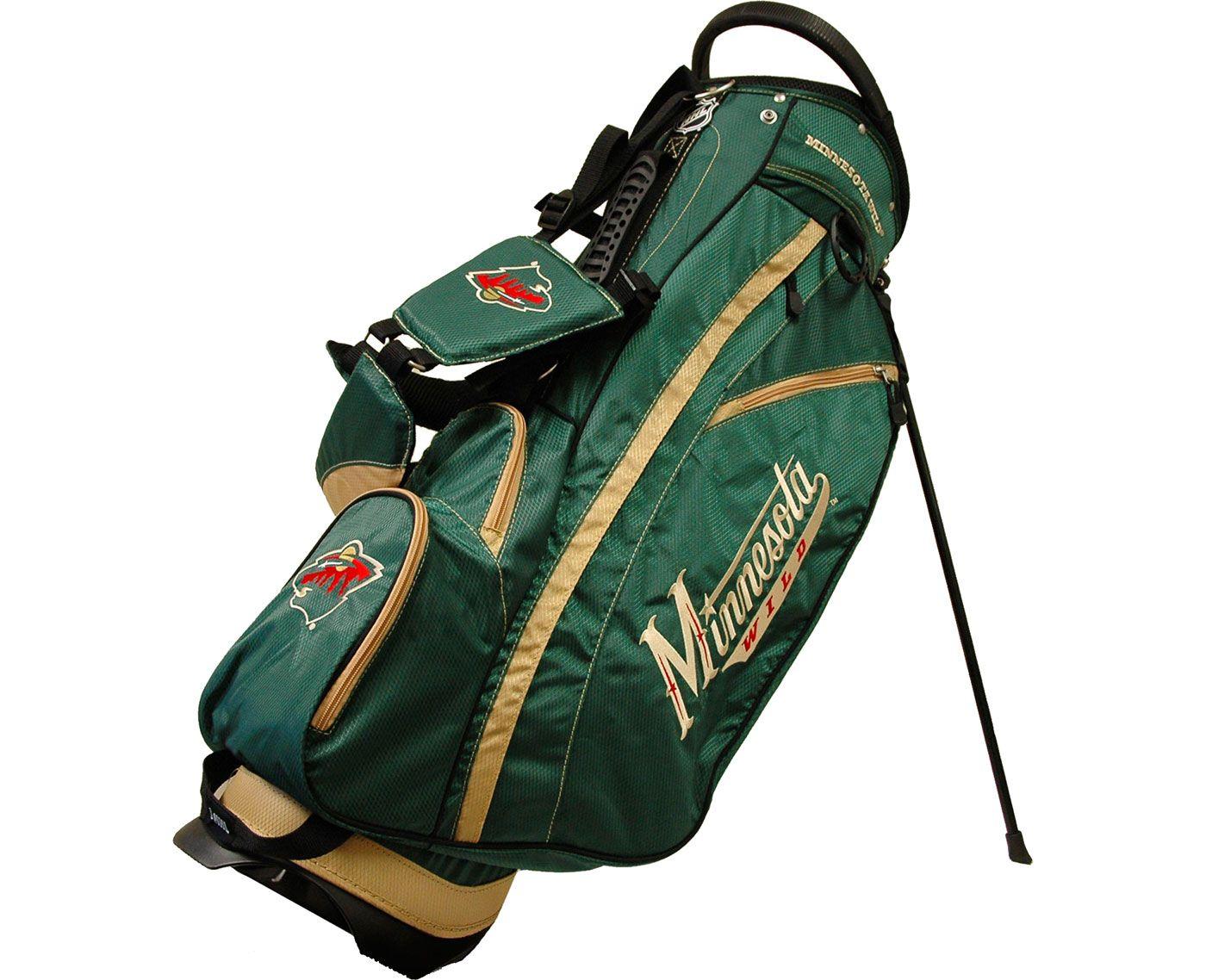 Team Golf Fairway Minnesota Wild Stand Bag