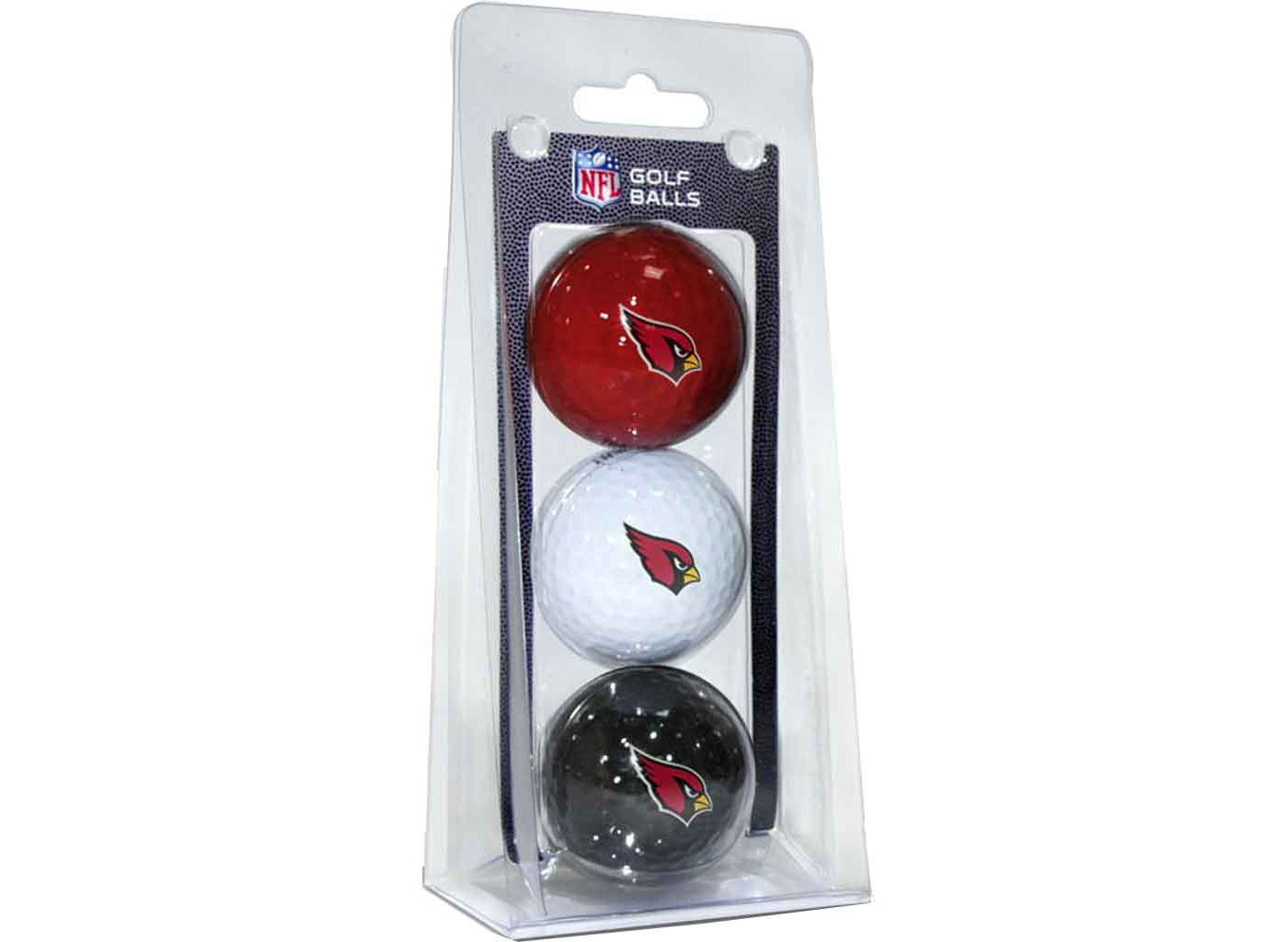 Team Golf Arizona Cardinals Golf Balls – 3 Pack