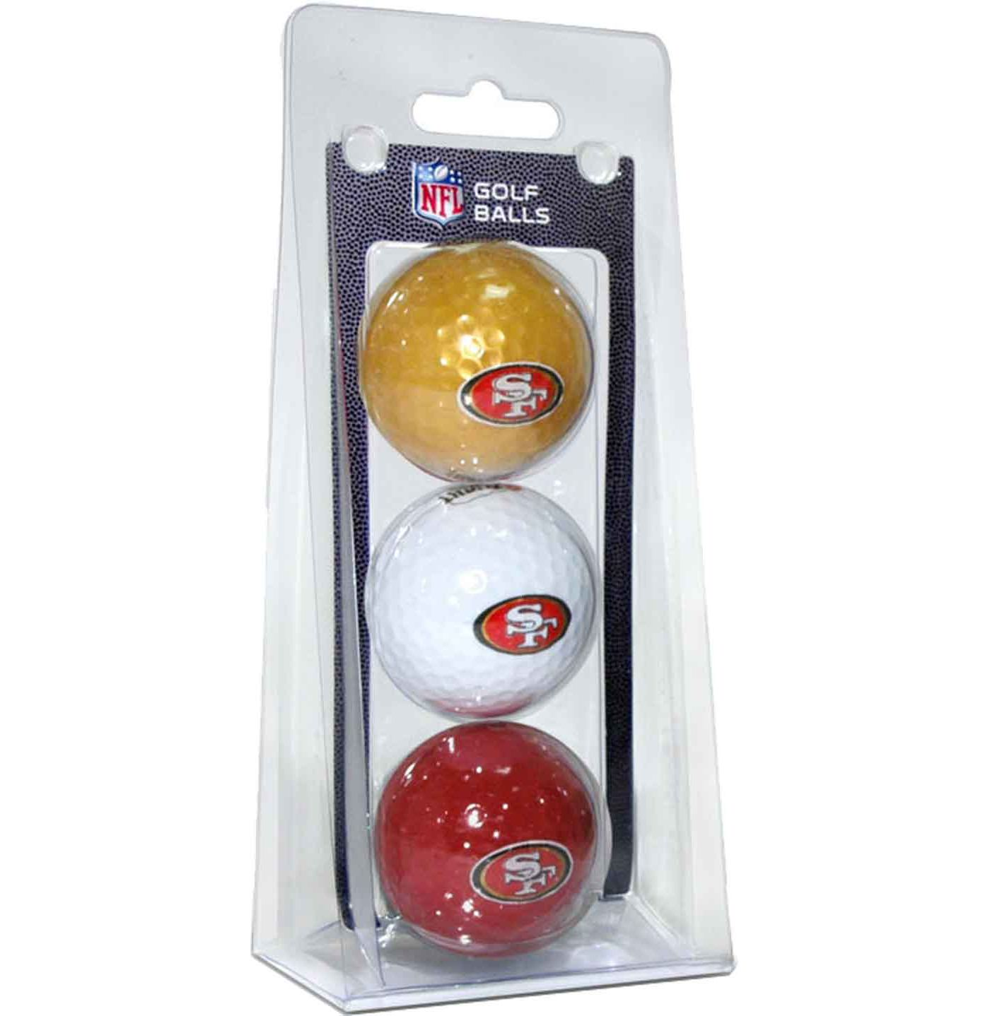 Team Golf San Francisco 49ers Golf Balls - 3 Pack