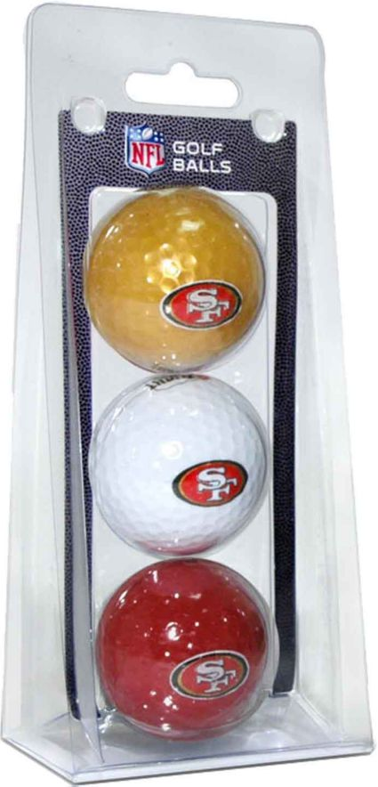 Team Golf San Francisco 49ers Golf Balls - 3 Pack