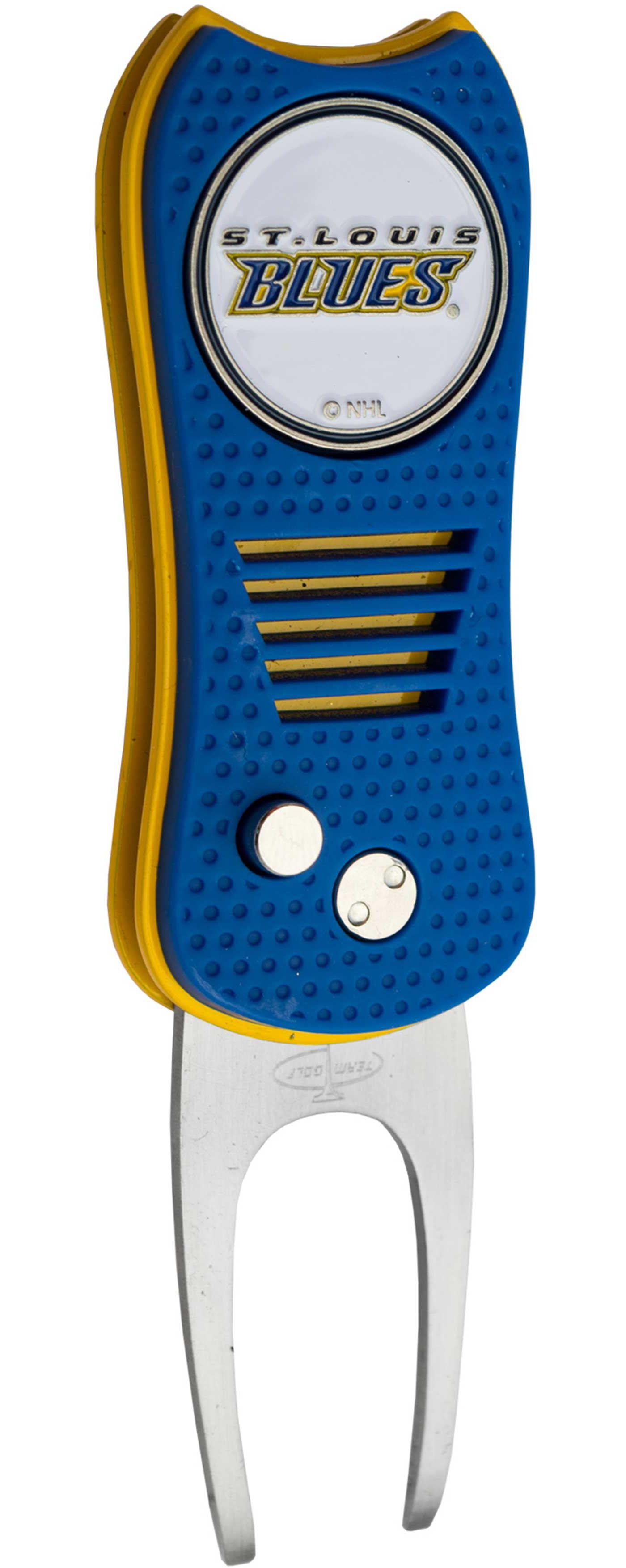 Team Golf Switchfix St. Louis Blues Divot Tool