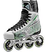 TOUR Hockey Senior Fish BoneLite Pro White Roller Hockey Skates