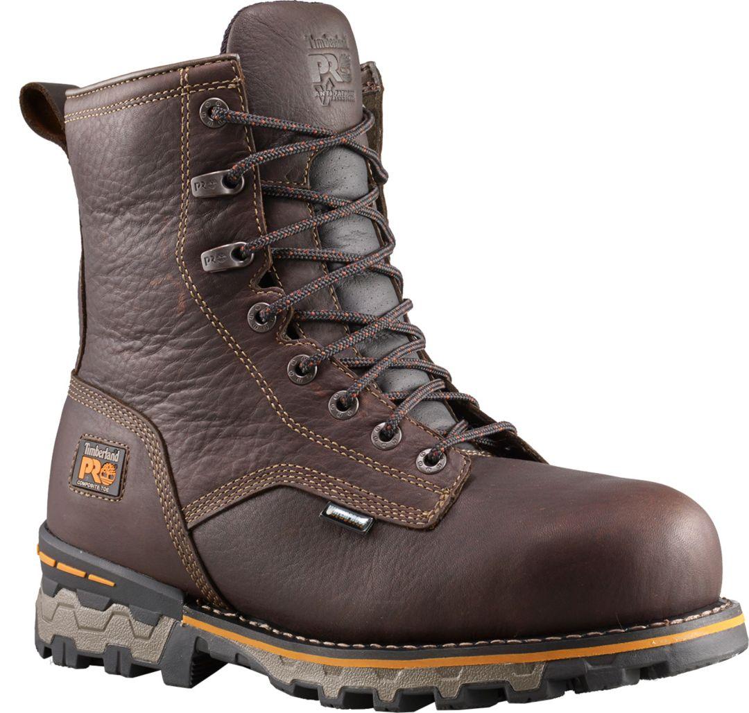 """90ec594c55d Timberland PRO Men's Boondock 8"""" 400g Waterproof Composite Toe Work Boots"""